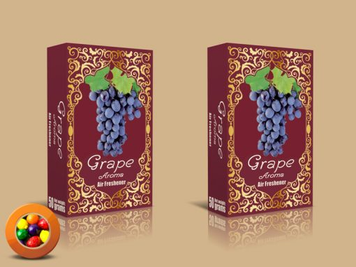 Grape Aroma Fruity Chewing Gum